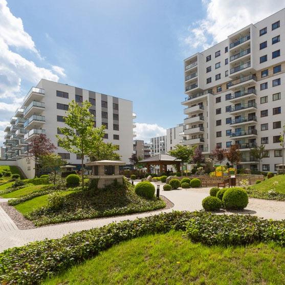 Osiedle mieszkaniowe SAKURA w Warszawie